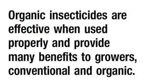 Organic Insecticides