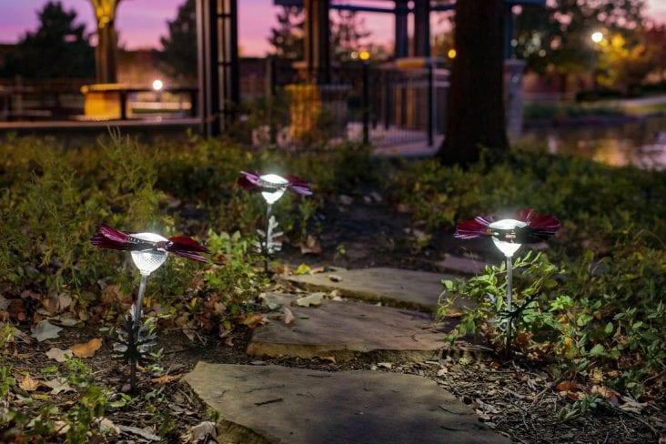 Add DIY Garden Lights