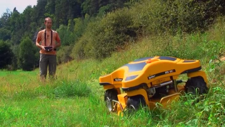 Remote control mowers